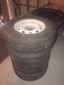 Winter tires for gm 3/4 ton