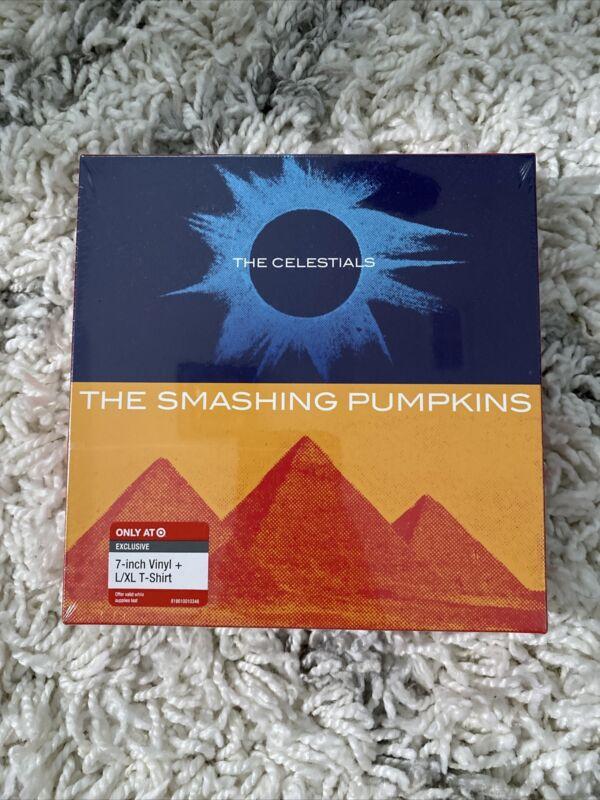 "The Smashing Pumpkins The Celestials Target Exclusive 7"" Vinyl & T-Shirt Sealed!"