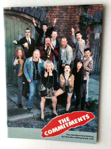 "Alan Parker ""The Commitments"" Japan movie souvenir program"