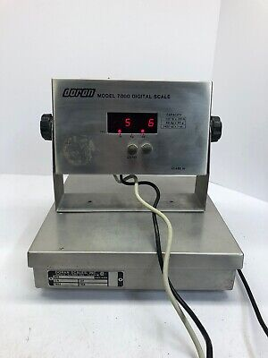 Doran 7000 Stainless Steel Digital Scale 150lbs Capacity