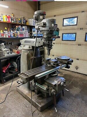 Bridgeport Series Ii Special Milling Machine W Power Feed 11 X 58 Table