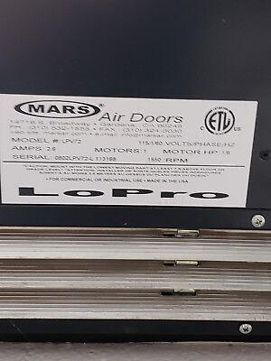 Mars Air Curtain Lpv 72