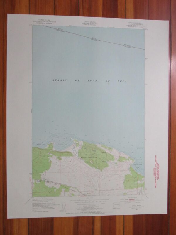 Joyce Washington 1955 Original Vintage USGS Topo Map