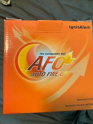 Afo Fire Extinguisher Ball Self-activation Auto Fire Off Device