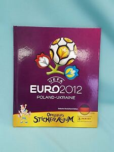 Panini EM 2012 Hardcover Album Buch Sammelalbum  Sticker Deluxe Euro Neu