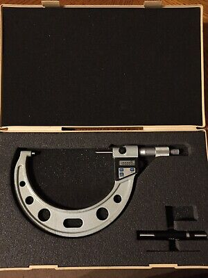 Mitutoyo 100-125mm Digital Micrometer 0.001mm Resolution 293-551 With Output