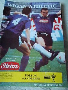 Wigan-Athletic-v-Bolton-Wanderers-programme-5-12-89-Leyland-Daf-Cup