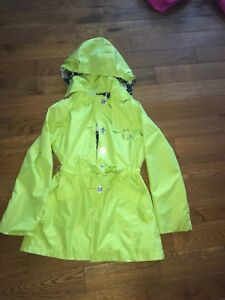 London Fog Raincoat size 10/12 girls
