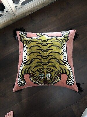 House of Hackney Pink Saber Cushion 60x60cm