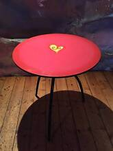 PINK LOVE HEART ROUND TABLE Sandringham Bayside Area Preview