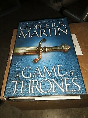A Game of Thrones by George R.R. Martin. (Bantam Hardcover)