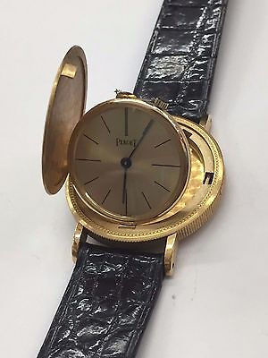 Vintage Piaget 1897 US $10 18K Yellow Gold Coin Stick Dial Quartz Women's Watch