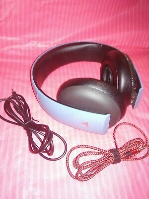 Sony Playstation Gold Uncharted 4 Stereo Headset CECHYA-0083 NO USB DONGLE Lot 7