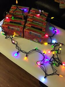 In/out LED string lights.