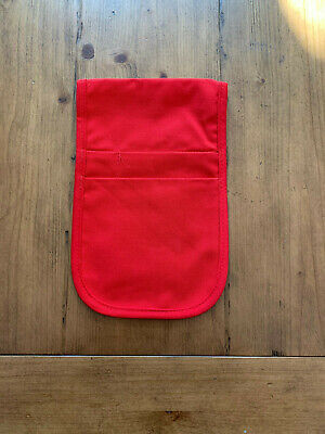 Red Money Pouch Apron F31