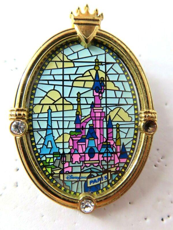 Disney Pin DLRP Cinderella Castle Window Sleeping Beauty Castle AS IS #38453