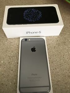 iPhone 6 Like Brand New in Box + Cases