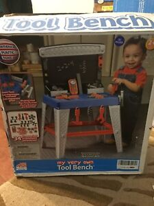 American plastic toys inc my very own tool bench NEW
