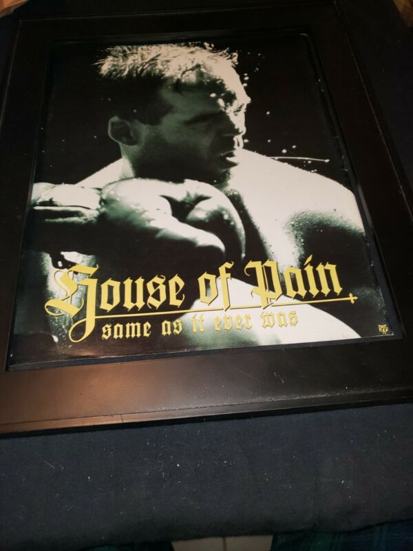 House Of Pain Same As It Ever Was Rare Original Promo Poster Ad Framed!