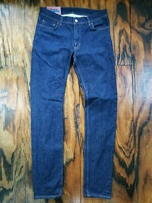 Acne Sudios Bla Konst North Indigo Jeans - Size 31 x 32 - Made in Italy