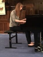 Piano Lessons **one time slot available***