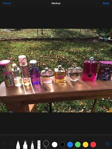 Collection of 11 perfume