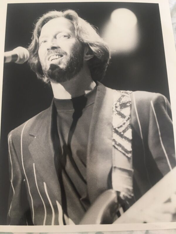 Eric Clapton Original Bob Gruen Stamped Photo Cream Blind Faith