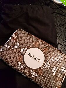 MIMCO Gridlock Tech Purse Mesh Gold. BRAND NEW NEVER USED Stirling Stirling Area Preview