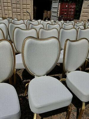 Infanti Off-white All-vinyl Banquet Ballroom Chair