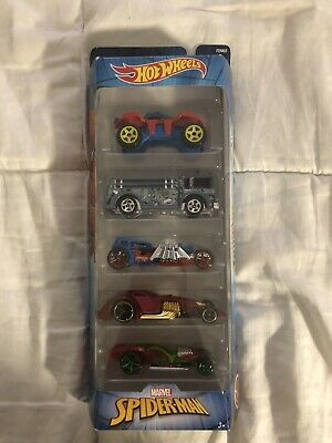 Hot Wheels 2017 Marvel Spider-Man 5-Pack