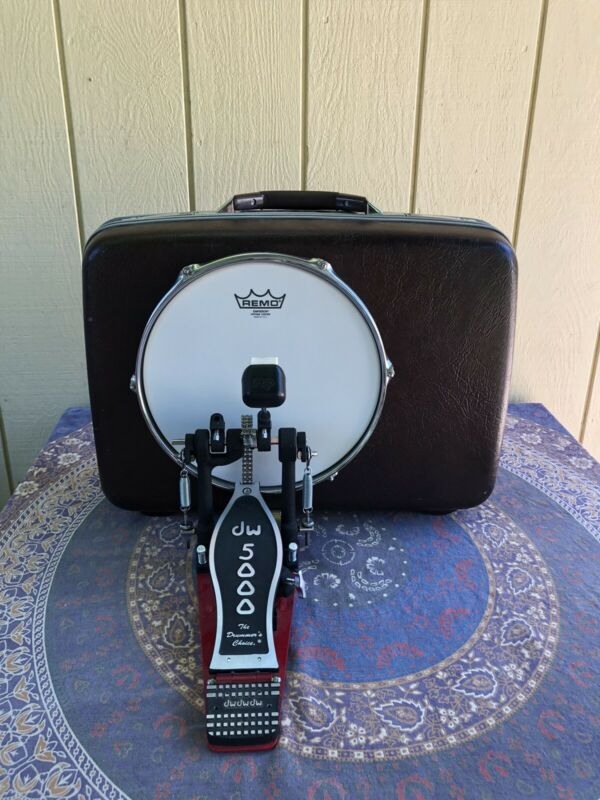 Vintage Suitcase Kick Drum