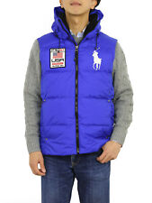 Polo Ralph Lauren Big Pony Hooded Puffer Down Vest w/USA ...