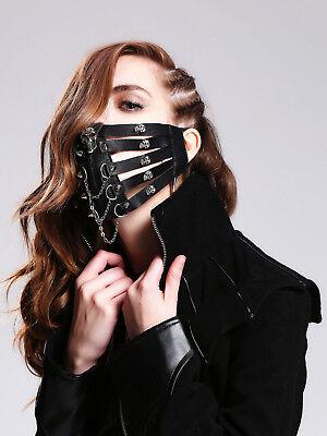 HaoLin Steampunk Mask Gothic Clothing Steampunk Gas Mask Masquerade Mask Women - Gothic Gas Mask
