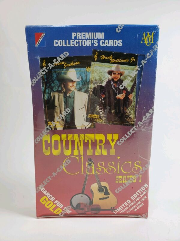 Country Classics Premium Collectors Cards 1992 Series 1 Limited Edition NIB 4a