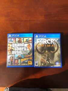 GTA 5 and Far Cry Primal PS4
