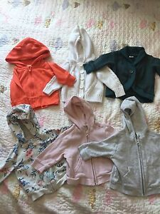 Girls sweaters 3-6 months