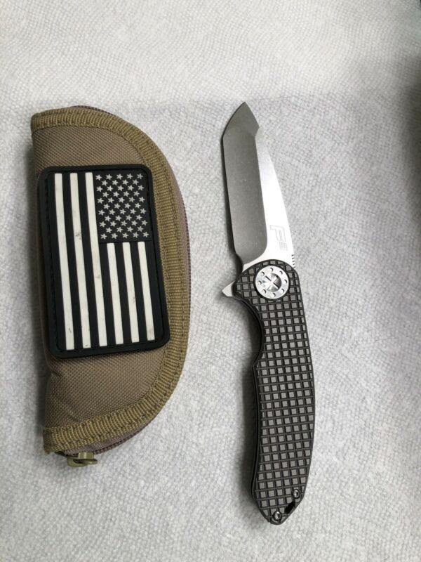 David Curtiss Titanium Frag Large F3 Knife