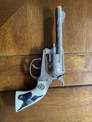 VINTAGE HUBLEY TEXAN JR. DIE CAST 250-C CAP GUN
