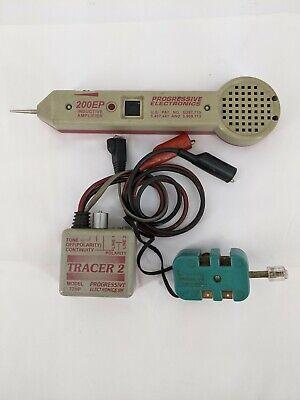 Progressive Electronics 200ep Inductive Amplifier 77hp Tracer 2 Test Set A03