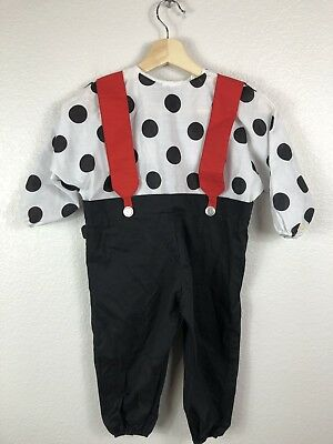 VTG  Spotted Dog Halloween Costume Whimsicality Inc Kids Size Small 2-3 years - Halloween Costume 2-3 Years