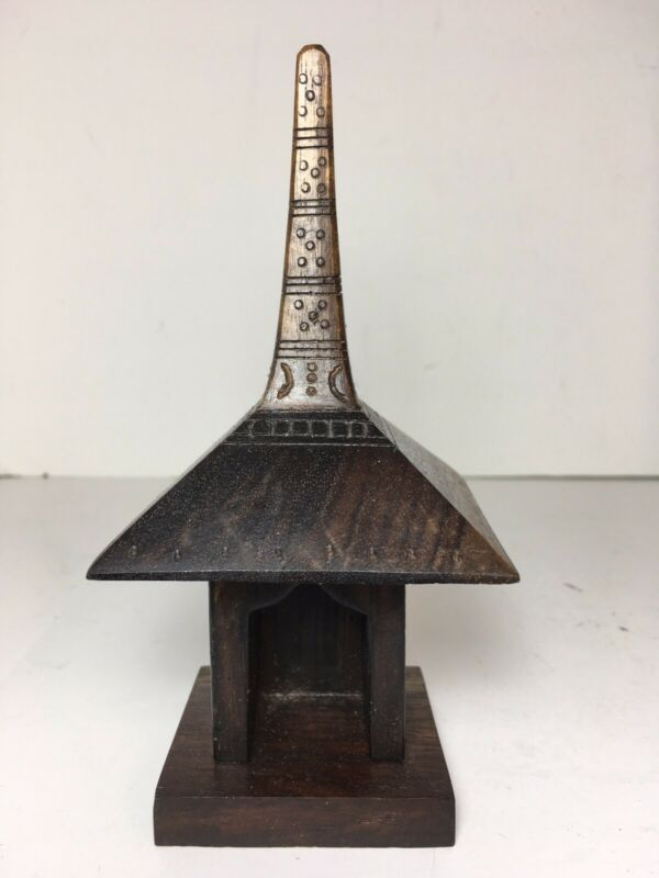 Handcrafted Wood Church Steeple 6""