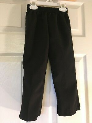 boys size 6 george black dress pants elastic waist Replacement 14