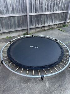 Everfit trampoline 8ft~ Price negotiable