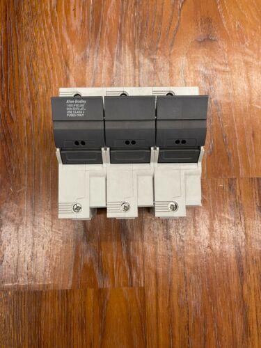 Allen Bradley 1492-FB3J60 Fuse Holder 60 Amps, 600 Volts (AMT 13)