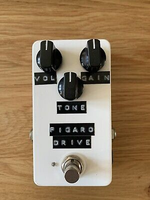 Figaro Drive Brian May Queen In A Box Treble Booster Ac30 Guitar Pedal.