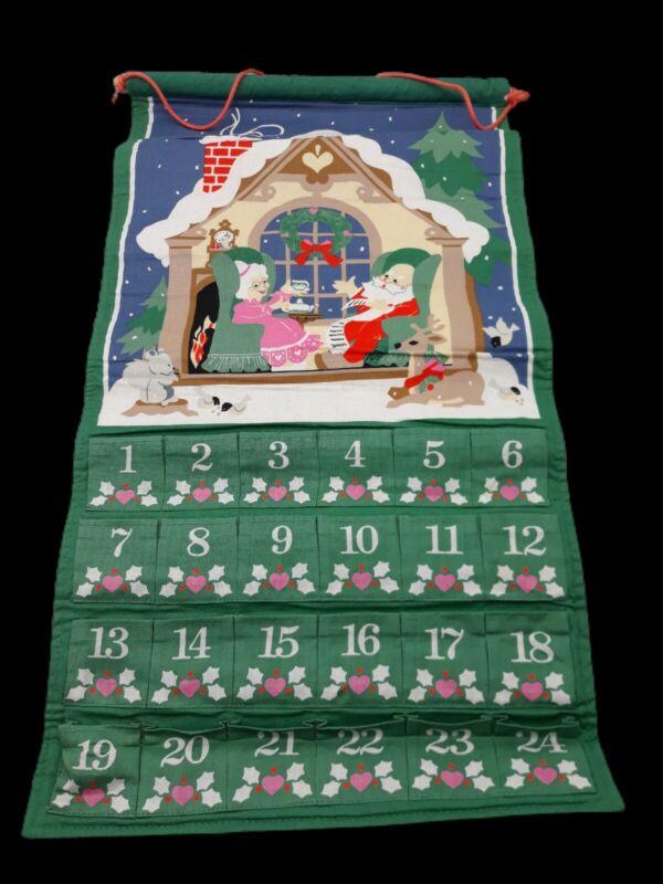 Avon Christmas Countdown Advent Calendar Vintage 1987--no mouse
