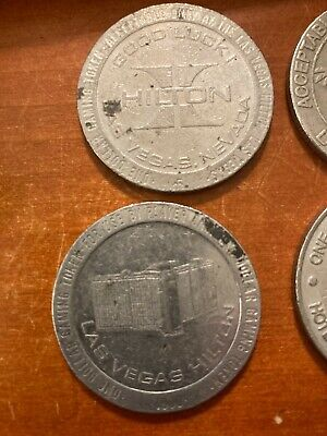 Lot of 10 Casino Tokens #1 Nevada and New Jersey