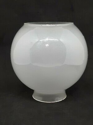 Vintage Frosted Glass Ball Light Lamp Shade Hanging Pendant Fixture 2 1/8 Inch