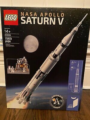 BRAND NEW Lego 21309 NASA Apollo Saturn V Ideas #017 1969pcs