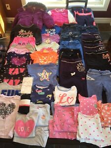 Girls 3T Fall/Winter/Spring Clothing Lot
